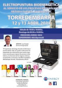 Seminario ENERGY Torredembarra 12-13 Abril 2014