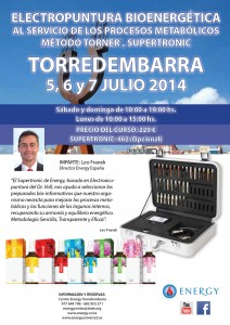 Seminario ENERGY Torredembarra 5-6 y 7 Julio 2014