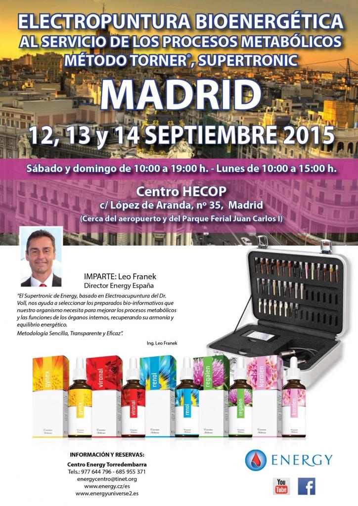 Madrid septiembre 2015