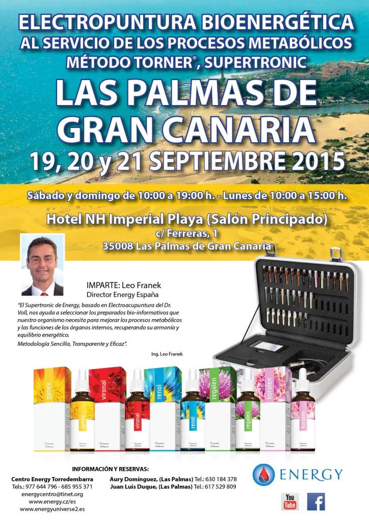 Seminario ENERGY Las Palmas de Gran Canaria 19,20 y 21 SEPTIEMBRE 2015