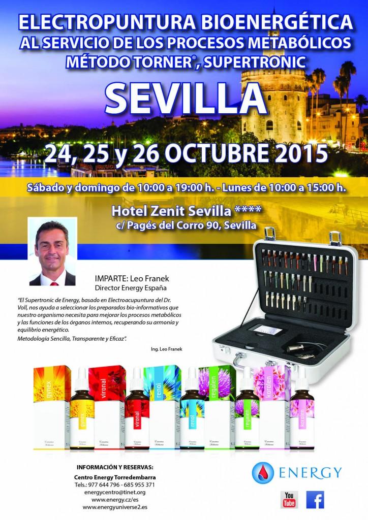Seminario ENERGY Sevilla 24,25 y 26 OCTUBRE 2015