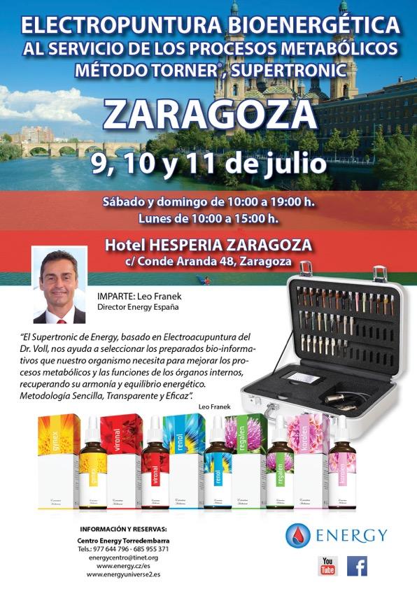 Seminario ENERGY Zaragoza 9, 10 y 11 julio 2016