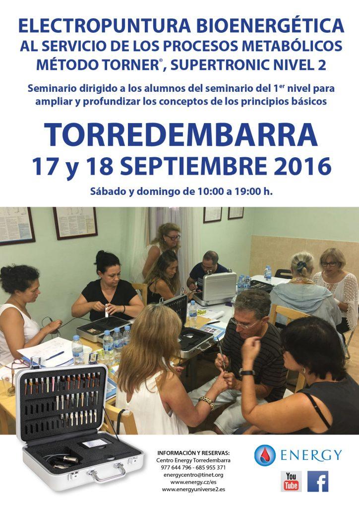 Seminario 2º NIVEL Torredembarra 17 y 18 septiembre 2016