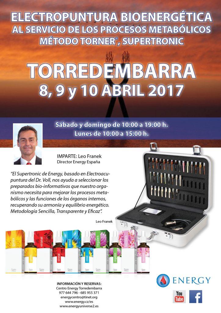 Seminario ENERGY Torredembarra 8,9 y 10 ABRIL 2017