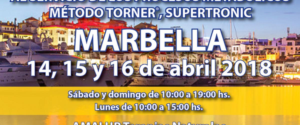 Taller Método Torner, Supertronic – Marbella, 2018
