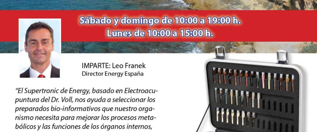 Seminario Energy: Torredembarra 25, 26 y 27 de agosto de 2018