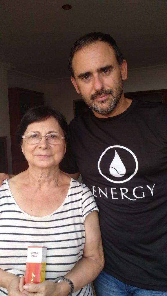 Oscar Soler y Ana Haro