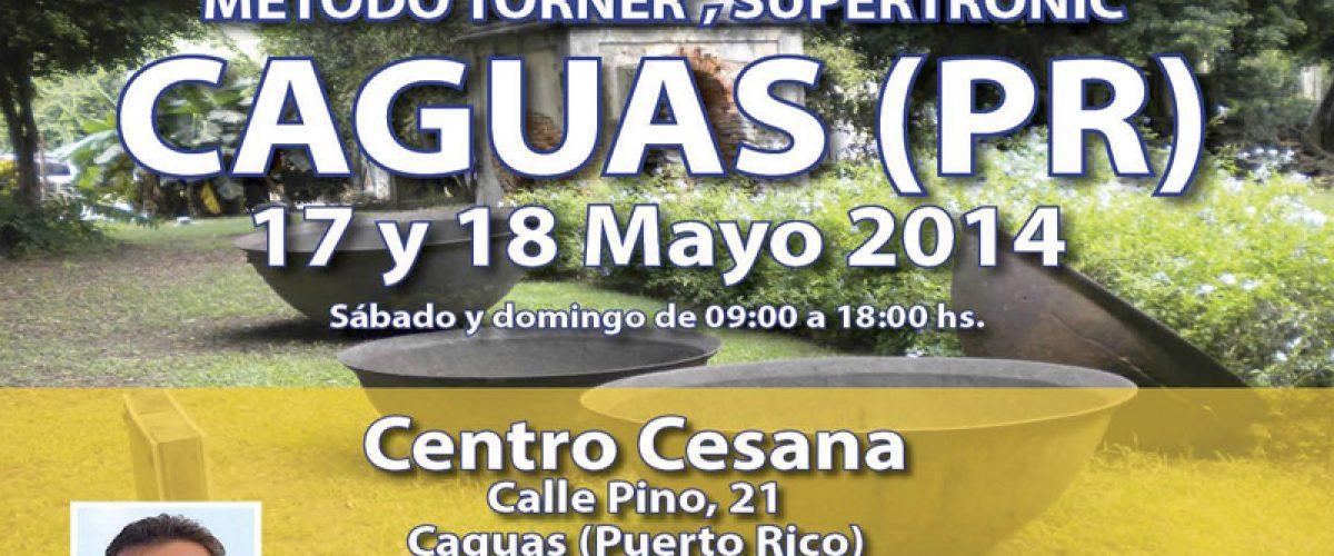Seminario Electropuntura Bioenergética (Caguas, Puerto Rico. 17 y 18 de mayo)