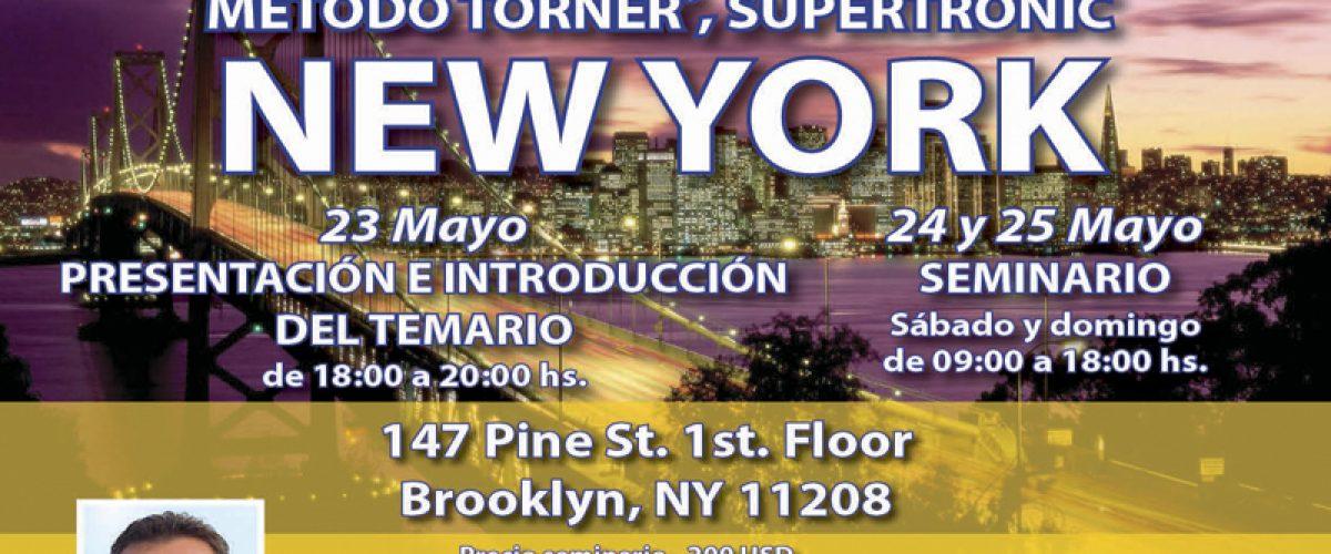 Seminario Electropuntura Bioenergética (Brooklyn, New York. 23, 24 y 25 mayo)