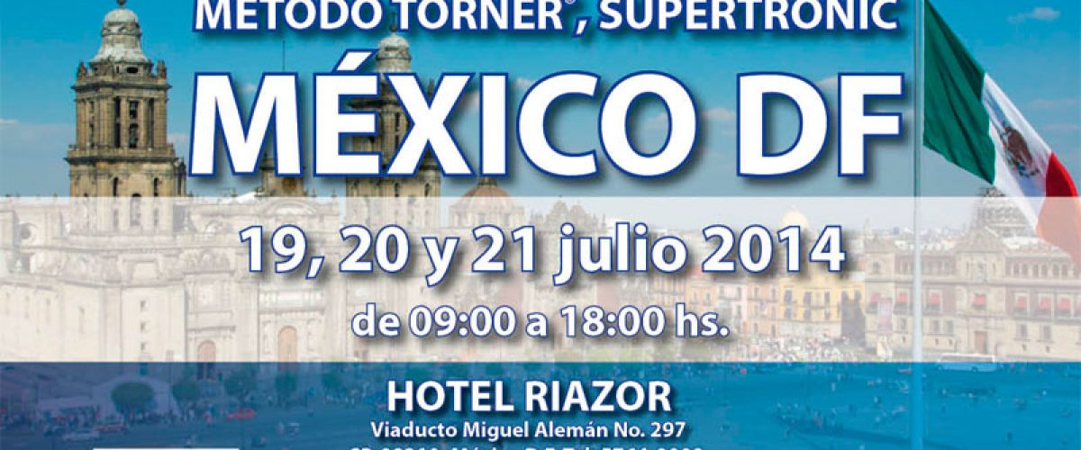 Seminario Electropuntura Bioenergética (México DF, 19-20 y 21 de julio)
