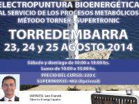 Seminario Electropuntura Bioenergética (Torredembarra 23, 24 y 25 agosto)