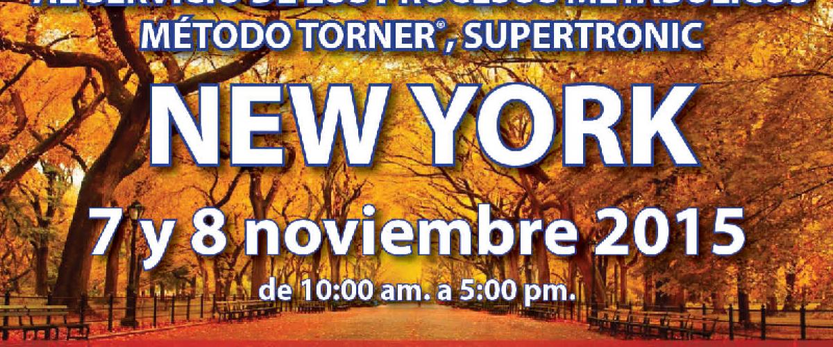 Seminario Electropuntura Bioenergética (New York 7 y 8 de noviembre)