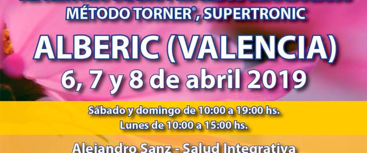 Seminario Energy en Alberic – Valencia: 6, 7 y 8 abril 2019
