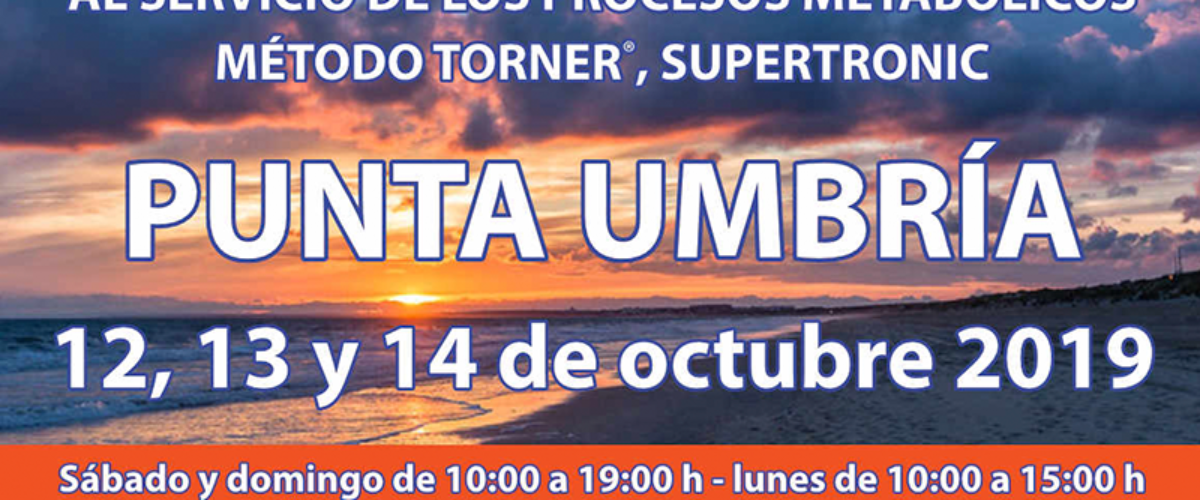 Seminario Energy en Punta Umbría: 12,13 y 14 octubre 2019