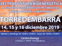 Seminario Energy en Torredembarra: 14, 15 y 16 diciembre 2019