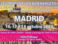 Seminario Energy en Madrid: 16, 17 y 18 octubre 2020