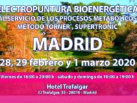 Seminario Energy en Madrid: 28, 29 febrero y 1 marzo 2020