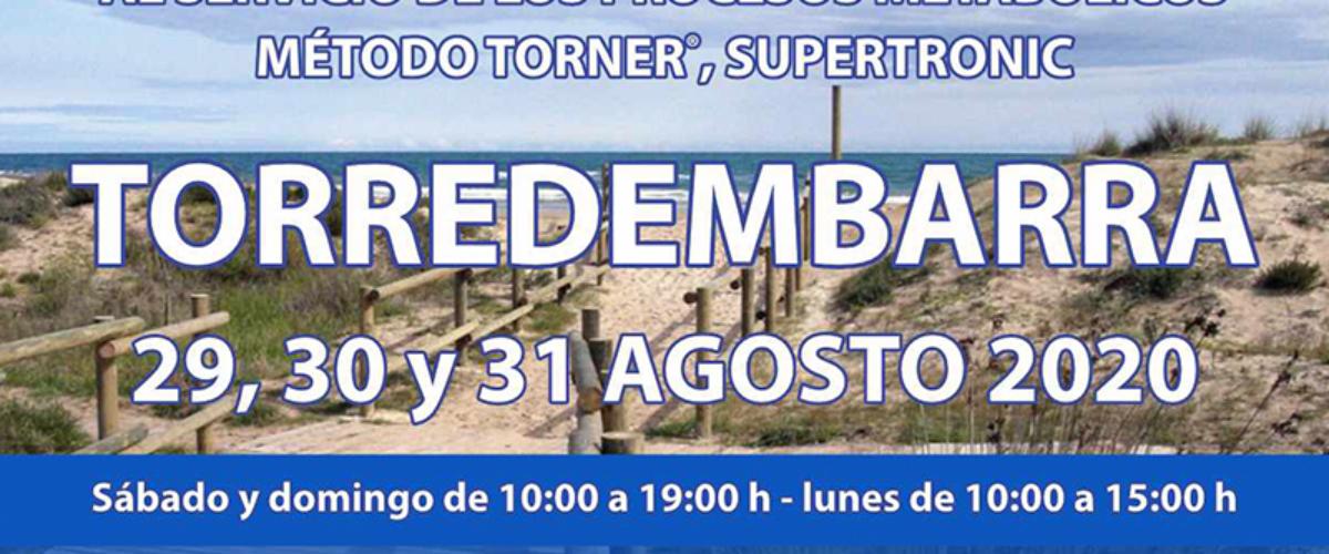 Seminario Energy en Torredembarra: 29, 30 y 31 agosto 2020