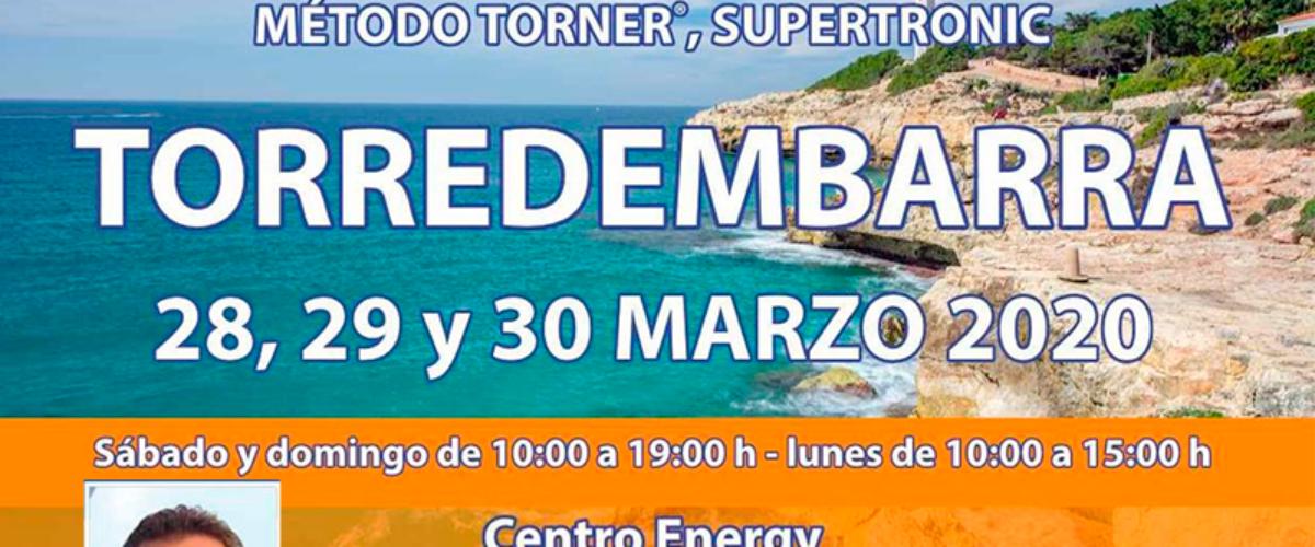 Seminario Energy en Torredembarra: 28, 29 y 30 marzo 2020