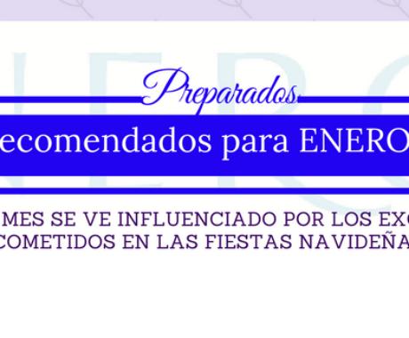 Preparados Energy, consejos para ENERO