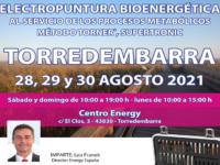 Seminario Energy en Torredembarra: 28, 29 y 30 agosto 2021
